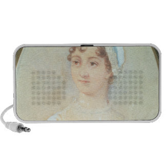 Portrait of Jane Austen Travelling Speakers