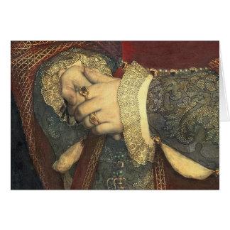 Portrait of Jane Seymour, 1536 Card