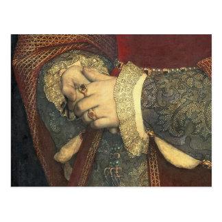 Portrait of Jane Seymour 1536 Post Cards