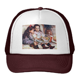 Portrait Of Jean And Geneviève Caillebotte Hat