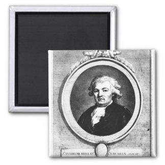 Portrait of Jean-Anthelme Brillat-Savarin Magnet