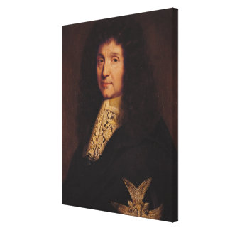 Portrait of Jean-Baptiste Colbert de Torcy  1667 Gallery Wrapped Canvas