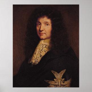 Portrait of Jean-Baptiste Colbert de Torcy  1667 Print