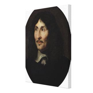 Portrait of Jean-Baptiste Colbert de Torcy Canvas Print