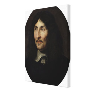 Portrait of Jean-Baptiste Colbert de Torcy Gallery Wrapped Canvas