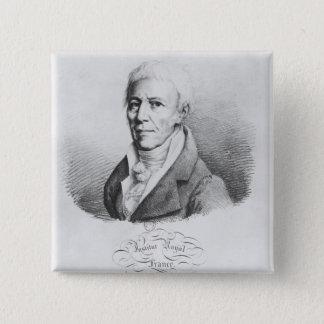 Portrait of Jean-Baptiste de Monet 15 Cm Square Badge