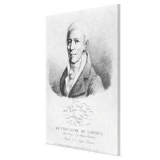 Portrait of Jean-Baptiste de Monet Stretched Canvas Print
