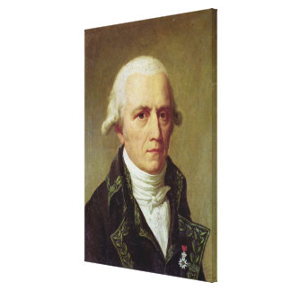 Portrait of Jean-Baptiste de Monet Canvas Print