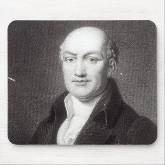Portrait of Jean Baptiste Joseph Delambre Mouse Mat