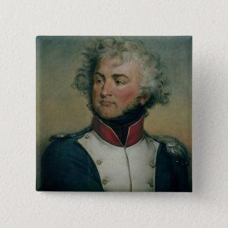 Portrait of Jean Baptiste Kleber 2 15 Cm Square Badge