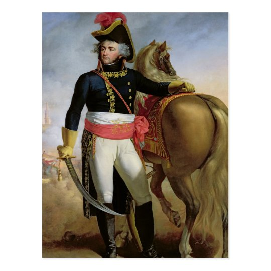 Portrait of Jean Baptiste Kleber Postcard