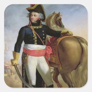 Portrait of Jean Baptiste Kleber Square Sticker
