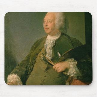 Portrait of Jean-Baptiste Oudry (1686-1755) c.1753 Mouse Mat