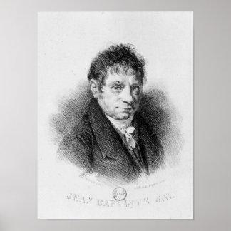 Portrait of Jean Baptiste Say Poster