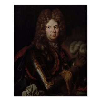 Portrait of Jean Bart Poster