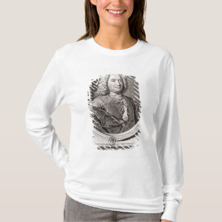 Portrait of Jean Bernoulli  engraved by T-Shirt