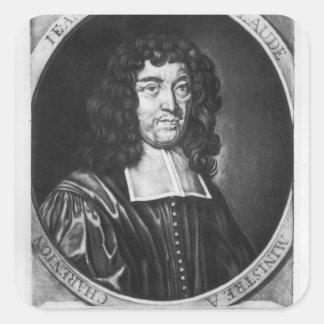 Portrait of Jean Claude Square Sticker
