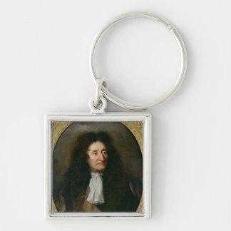 Portrait of Jean de La Fontaine Key Ring