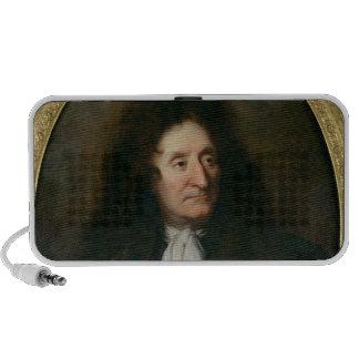 Portrait of Jean de La Fontaine Mini Speakers