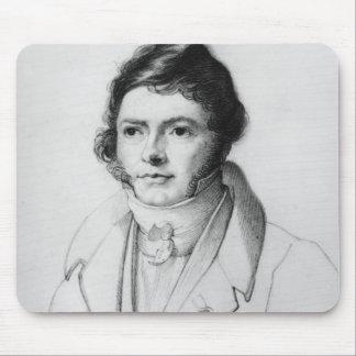 Portrait of Jean-Francois Champollion , 1830 Mouse Mat