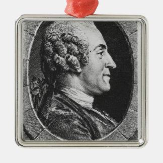 Portrait of Jean Francois Marmontel Christmas Ornament