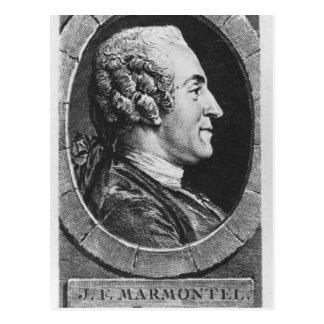 Portrait of Jean Francois Marmontel Postcard