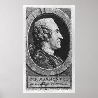 Portrait of Jean Francois Marmontel Poster