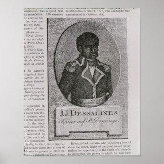Portrait of Jean-Jacques Dessalines Poster