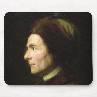 Portrait of Jean-Jacques Rousseau Mouse Mat