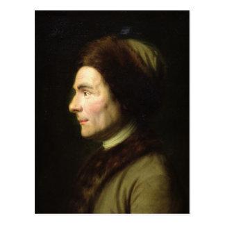 Portrait of Jean-Jacques Rousseau Postcard
