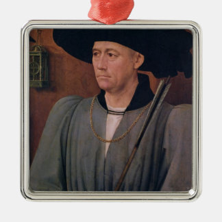 Portrait of Jean Lefevre de Saint-Remy Christmas Ornament