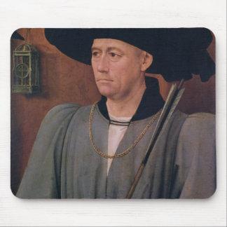 Portrait of Jean Lefevre de Saint-Remy Mouse Mat
