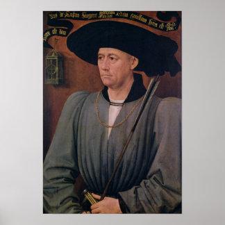 Portrait of Jean Lefevre de Saint-Remy Poster