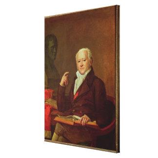 Portrait of Jean Nicolas Corvisart des Marets Canvas Print