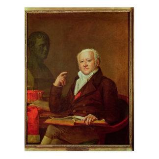 Portrait of Jean Nicolas Corvisart des Marets Postcard