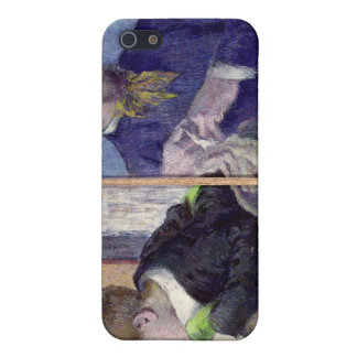 Portrait of Jean Paul Aube  and his son Case For iPhone 5/5S