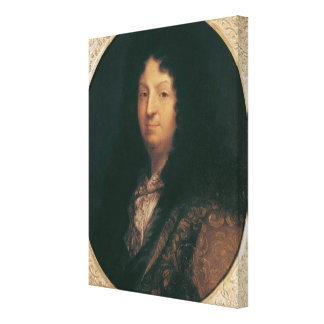 Portrait of Jean Racine Canvas Print