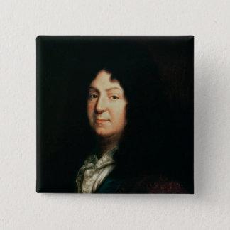 Portrait of Jean Racine  copy of an original 15 Cm Square Badge