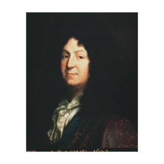 Portrait of Jean Racine  copy of an original Canvas Print