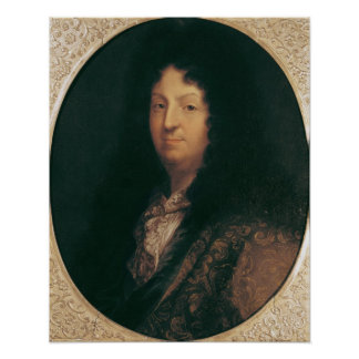 Portrait of Jean Racine Poster