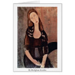 Portrait Of Jeanne Hébuterne By Modigliani Amedeo