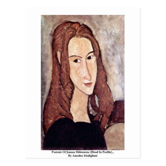 Portrait Of Jeanne Hébuterne [Head In Profile]., Postcards