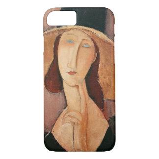 Portrait of Jeanne Hebuterne in a large hat iPhone 8/7 Case