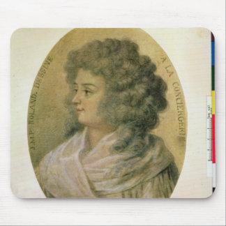 Portrait of Jeanne-Marie Roland de la Platiere Mouse Mat