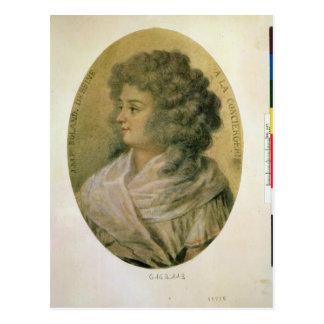 Portrait of Jeanne-Marie Roland de la Platiere Postcard
