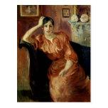 Portrait of Jeanne Pontillon Postcards