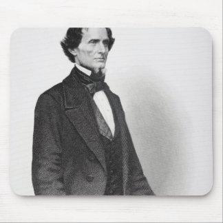 Portrait of Jefferson Davis Mouse Mat