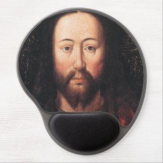 Portrait of Jesus Christ by Jan van Eyck Gel Mouse Mats