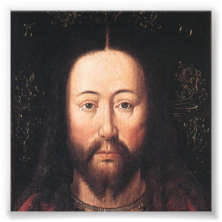 Portrait of Jesus Christ by Jan van Eyck Photo