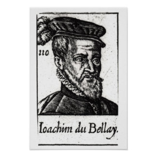 Portrait of Joachim du Bellay Poster